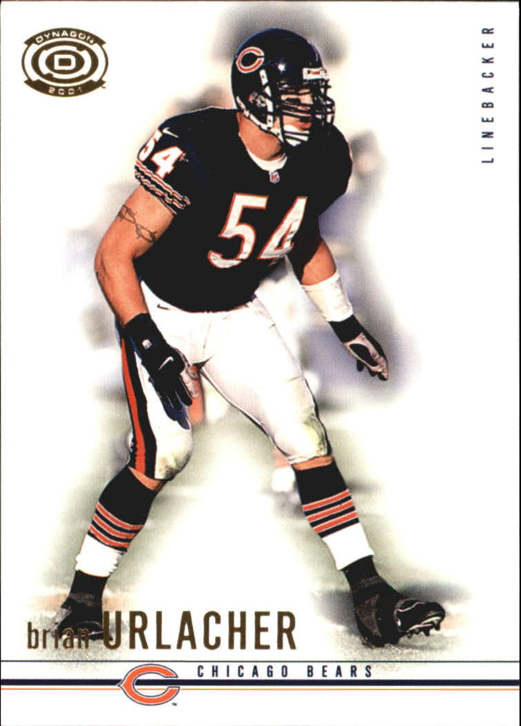 2001 Pacific Dynagon Retail #19 Brian Urlacher