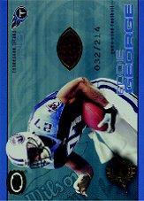 2001 Pacific Dynagon Game Used Footballs #20 Eddie George