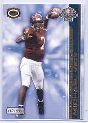 2001 Pacific Dynagon Premiere Players #18 Michael Vick