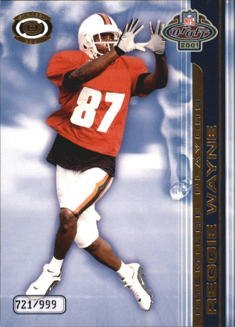 2001 Pacific Dynagon Premiere Players #19 Reggie Wayne