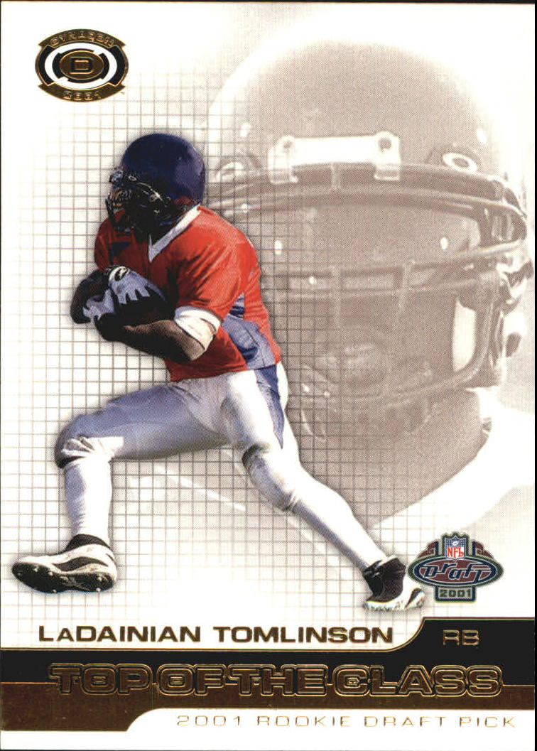 2001 Pacific Dynagon Top of the Class #21 LaDainian Tomlinson