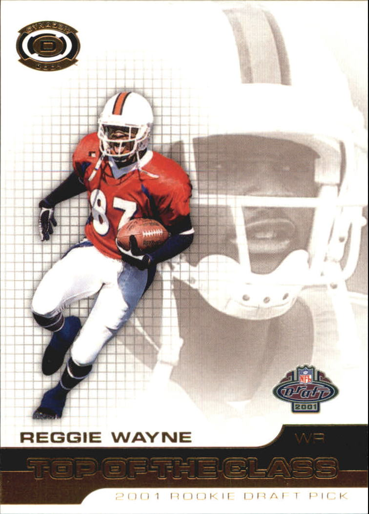 2001 Pacific Dynagon Top of the Class #24 Reggie Wayne
