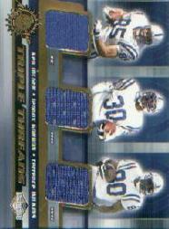 2001 Pacific Impressions Triple Threads #22 Ken Dilger/Lennox Gordon/Terrence Wilkins