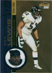 2001 Pacific Invincible #19 Ray Lewis