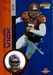 2001 Pacific Invincible Blue #254 Michael Vick