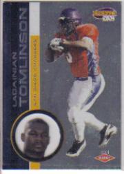 2001 Pacific Invincible Retail #290 LaDainian Tomlinson RC