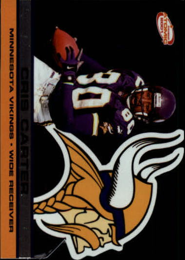 2001 Pacific Prism Atomic #78 Cris Carter