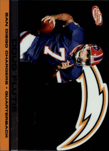 2001 Pacific Prism Atomic #124 Doug Flutie