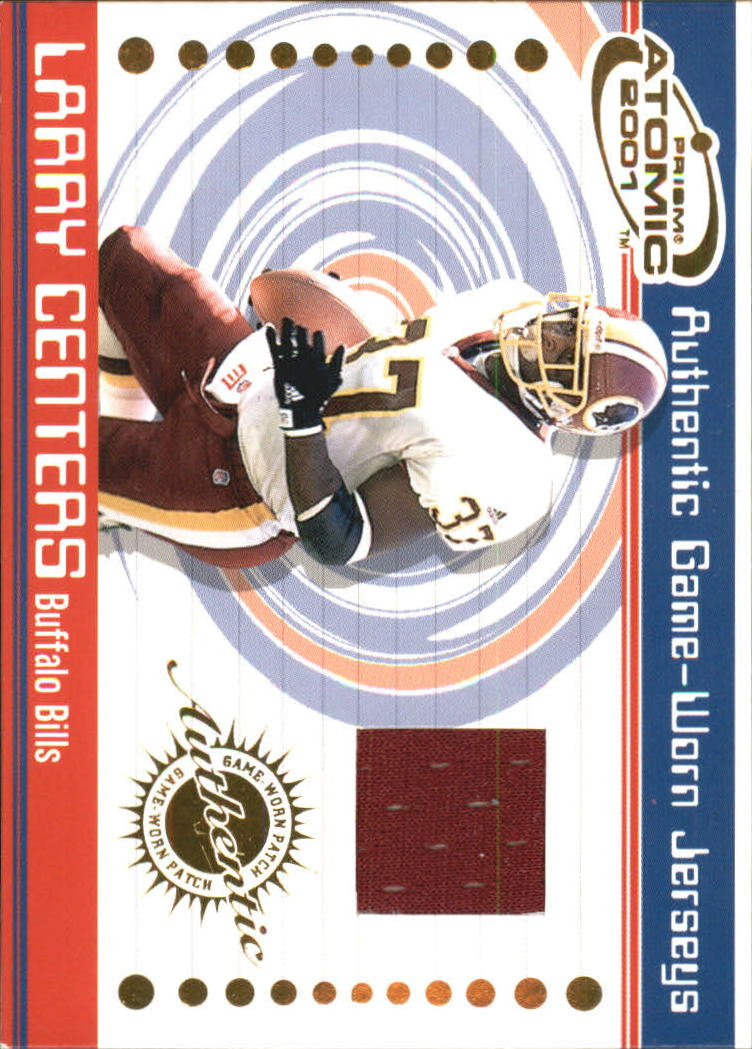 2001 Pacific Prism Atomic Jerseys #8 Larry Centers