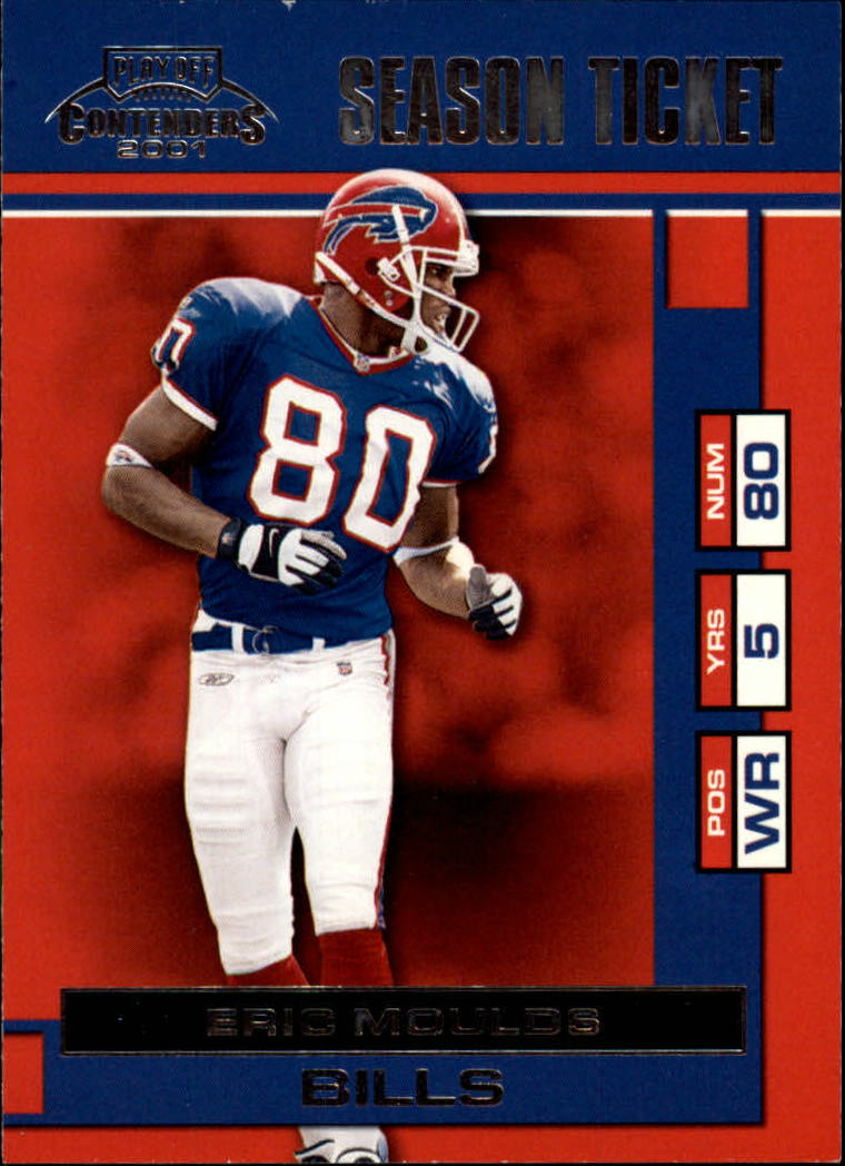 2001 Playoff Contenders #10 Eric Moulds