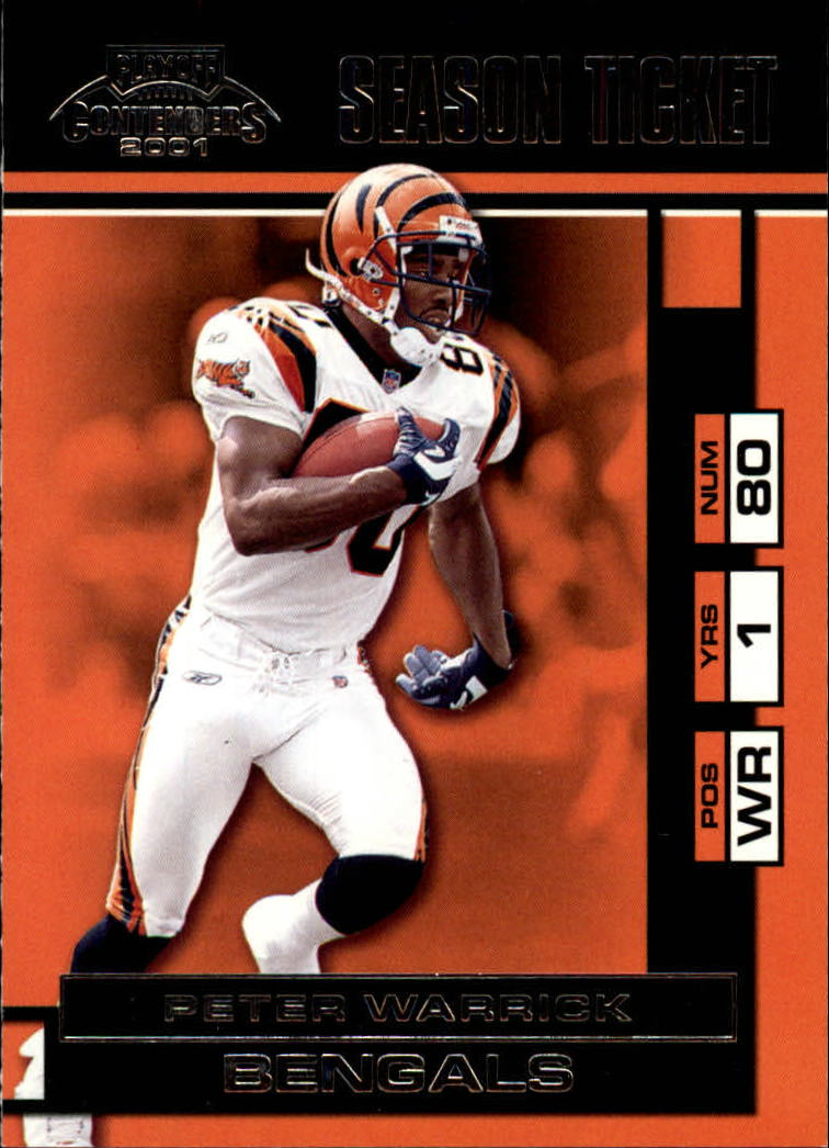 2001 Playoff Contenders #15 Peter Warrick