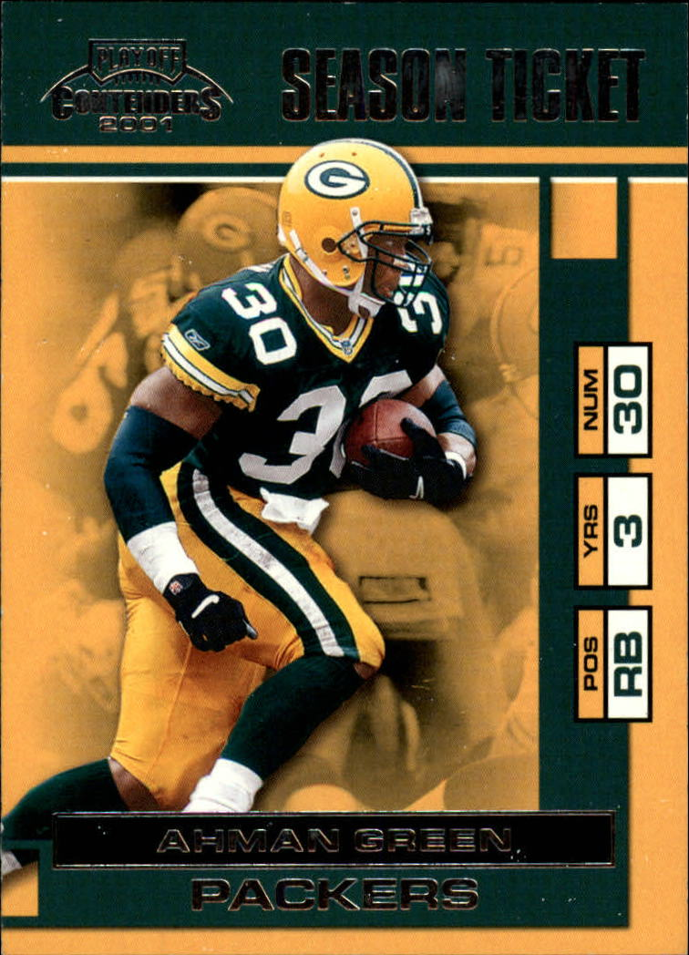 2001 Playoff Contenders #32 Ahman Green