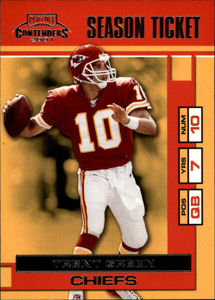 2001 Playoff Contenders #42 Trent Green