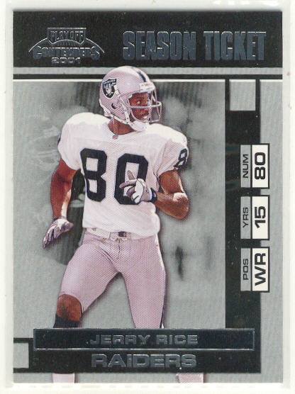 2001 Playoff Contenders #70 Jerry Rice