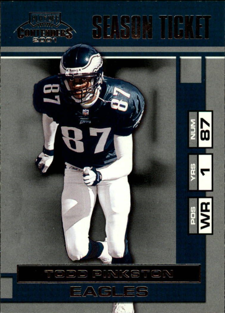 2001 Playoff Contenders #73 Todd Pinkston