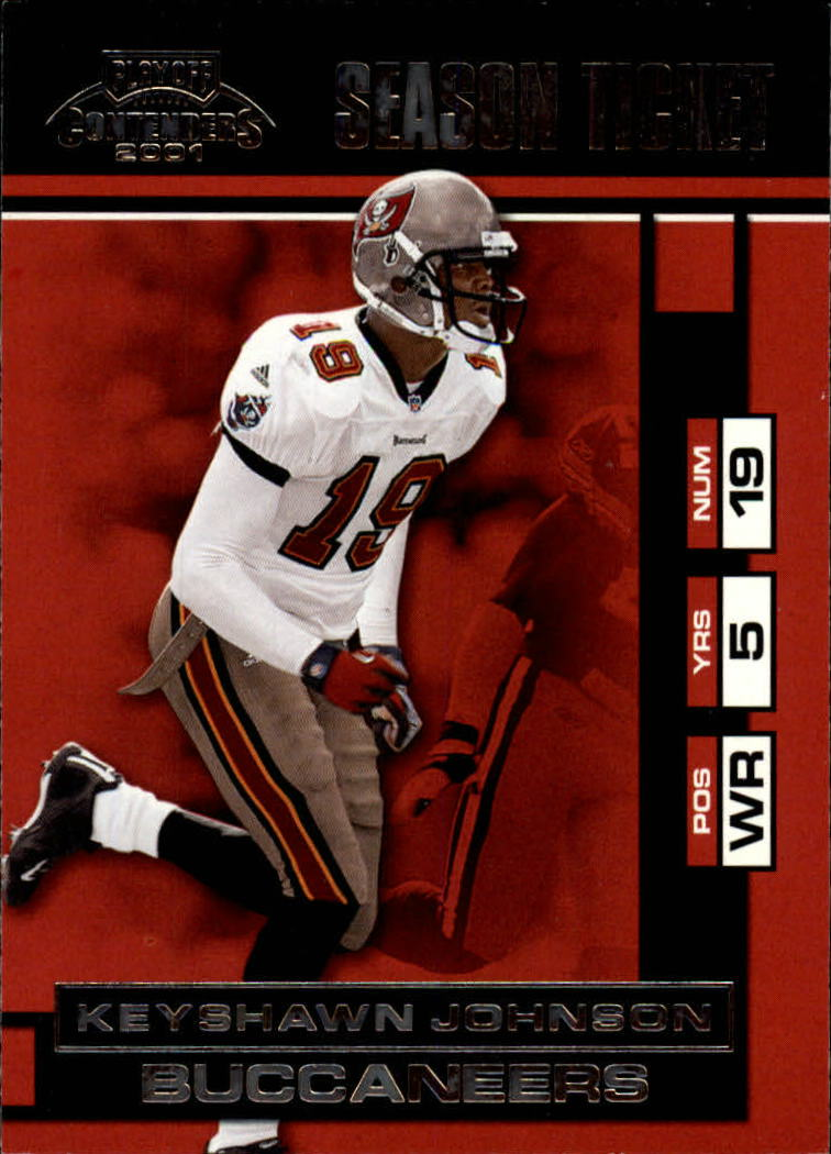 2001 Playoff Contenders #91 Keyshawn Johnson