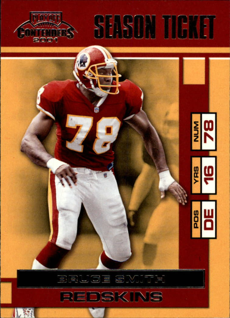 2001 Playoff Contenders #99 Bruce Smith