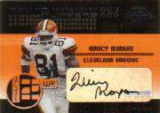 2001 Playoff Contenders Round Numbers Autographs #9 Chad Johnson/Quincy Morgan