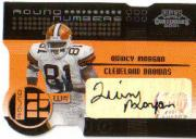 2001 Playoff Contenders Round Numbers Autographs Gold #9 Chad Johnson/20/Quincy Morgan