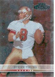 2001 Playoff Honors #98 Steve Young front image