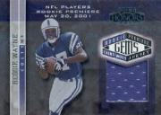 2001 Playoff Honors #233 Reggie Wayne JSY RC
