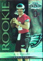 2001 Playoff Honors X's and O's #102 A.J. Feeley/50