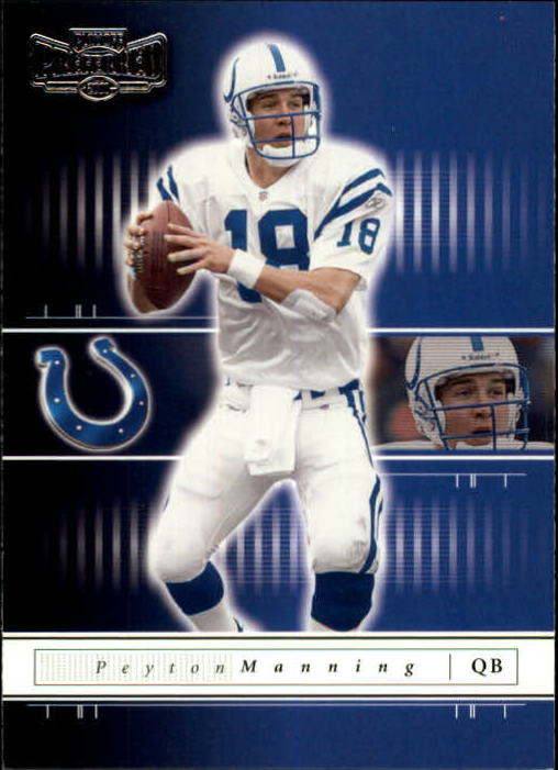 2001 Playoff Preferred #15 Peyton Manning