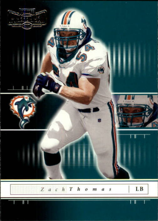 2001 Playoff Preferred #29 Zach Thomas