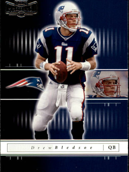 2001 Playoff Preferred #30 Drew Bledsoe