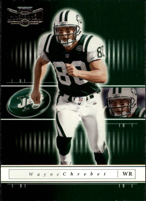 2001 Playoff Preferred #35 Wayne Chrebet