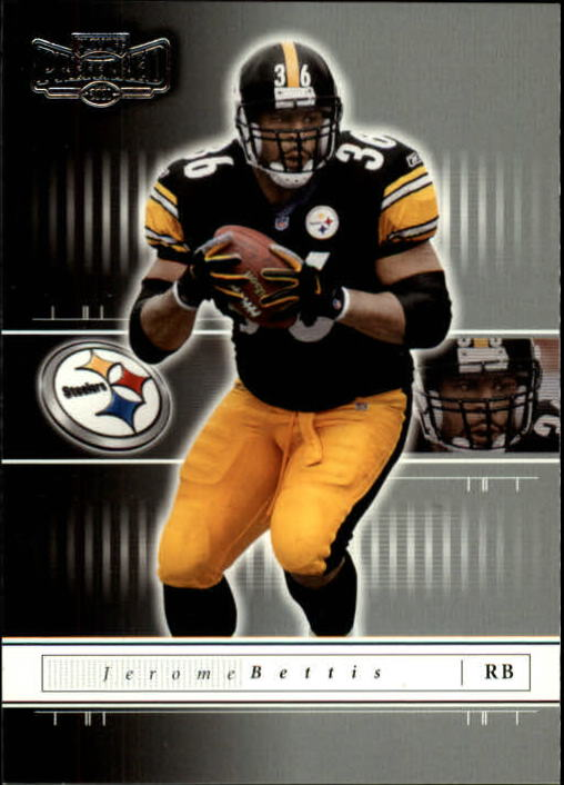 2001 Playoff Preferred #44 Jerome Bettis