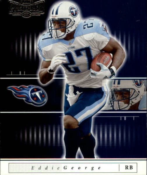 2001 Playoff Preferred #51 Eddie George