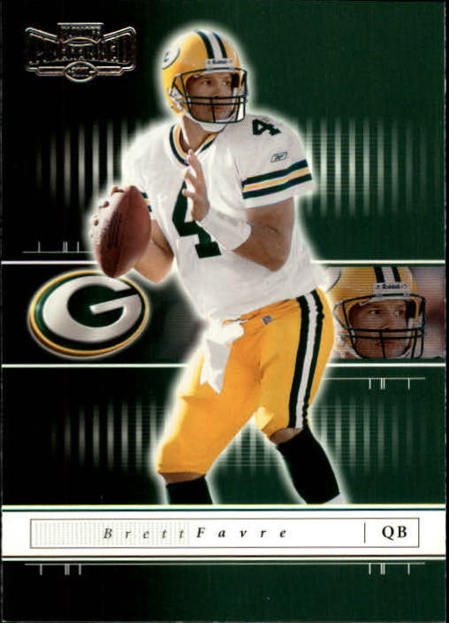 2001 Playoff Preferred #69 Brett Favre