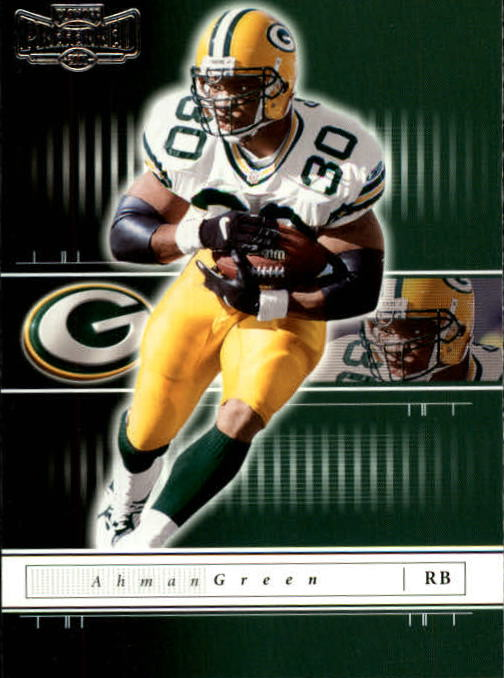 2001 Playoff Preferred #70 Ahman Green