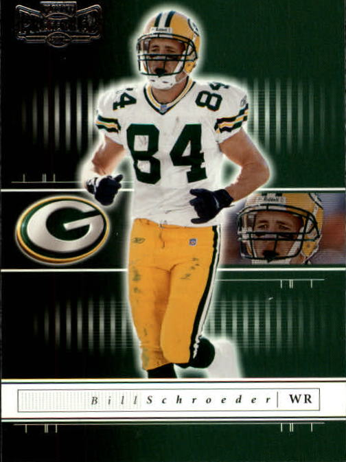 2001 Playoff Preferred #71 Bill Schroeder