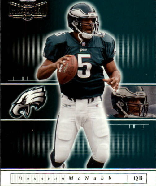 2001 Playoff Preferred #83 Donovan McNabb