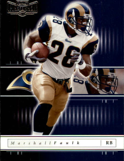 2001 Playoff Preferred #90 Marshall Faulk