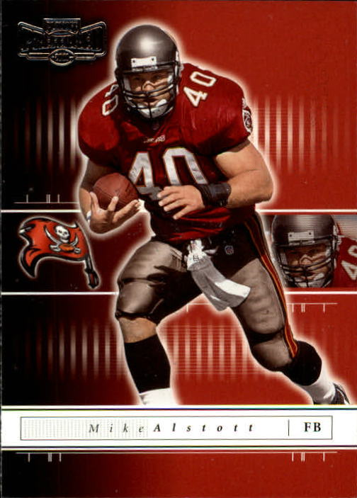 2001 Playoff Preferred #95 Mike Alstott