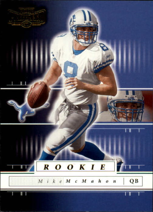 2001 Playoff Preferred #106 Mike McMahon RC