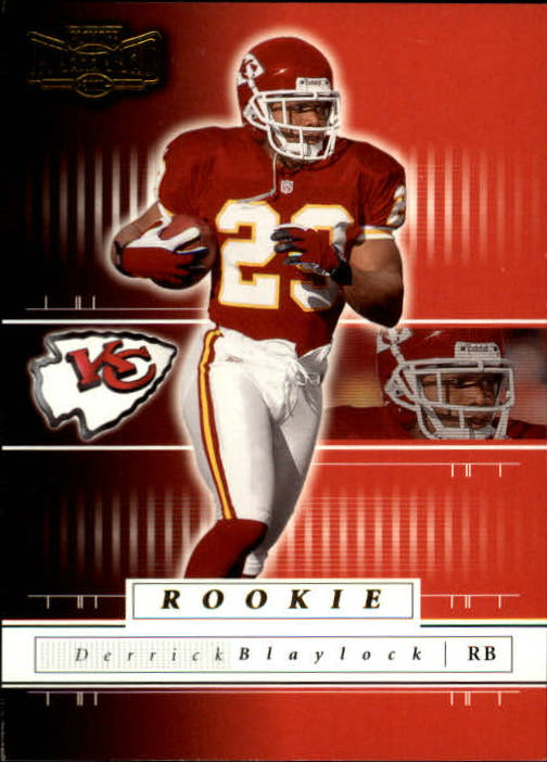 2001 Playoff Preferred #117 Derrick Blaylock RC