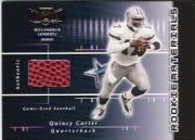2001 Playoff Preferred #224 Quincy Carter FB/750 RC