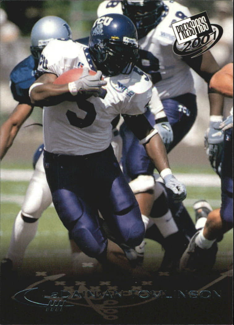 2001 Press Pass Torquers #11 LaDainian Tomlinson