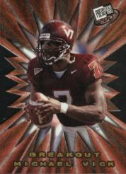 2001 Press Pass Breakout #B2 Michael Vick