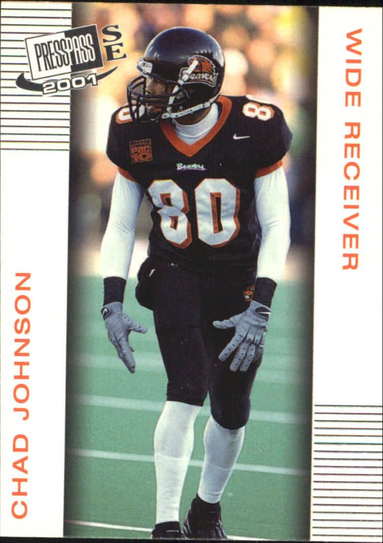 2001 Press Pass SE #30 Chad Johnson