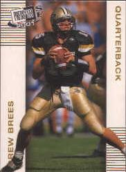 2001 Press Pass SE Gold #2 Drew Brees