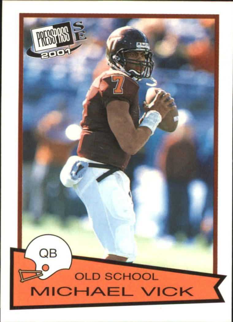2001 Press Pass SE Old School #OS1 Michael Vick