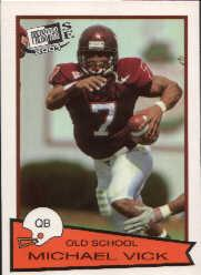2001 Press Pass SE Old School #OS27 Michael Vick CL