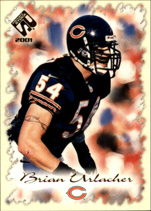 2001 Private Stock #19 Brian Urlacher
