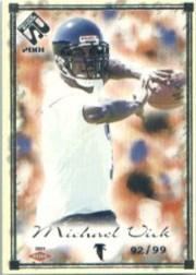 2001 Private Stock Silver Framed #105 Michael Vick