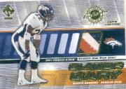 2001 Private Stock Game Worn Gear Patch #49 Olandis Gary/225